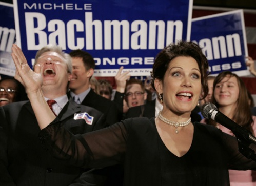 MSNBC's Lawrence O'Donnell clowns Bachmann with 10th Grader