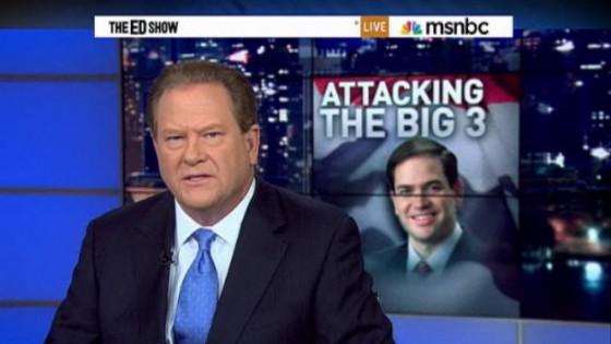 MSNBC's Ed Schultz calls out MarcoRubio