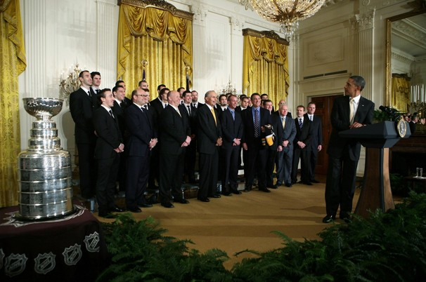 Talking Points Tuesdays – POTUS celebrates Boston Bruins minus their MVP Tim Thomas