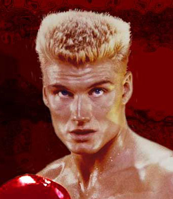 Who is your favorite action movie star? Ummmm, Dolph Lundgren…..