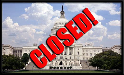 GOVERNMENT SHUTDOWN!!!
