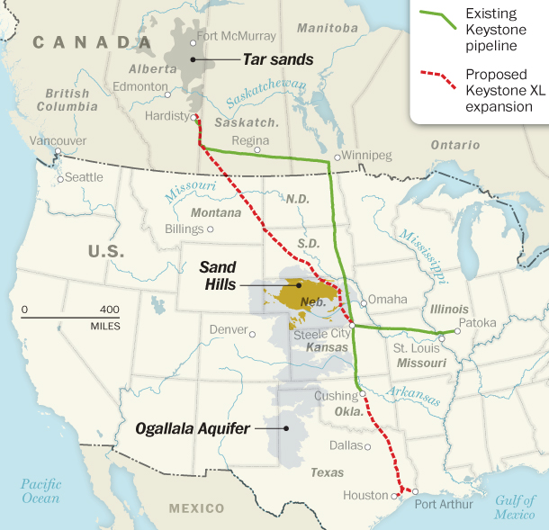 keystone-xl-map
