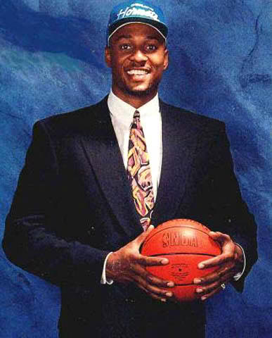 Alonzo Mourning 1992 NBA Draft Hornets