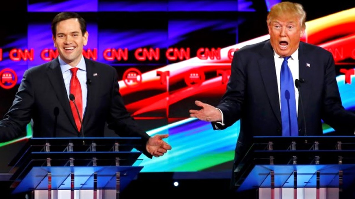 Welcome to the Fight Marco Rubio…
