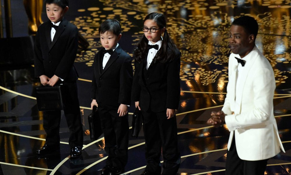 Jeremy Lin Not Laughing At Chris Rock's Asian Joke During the#Oscars