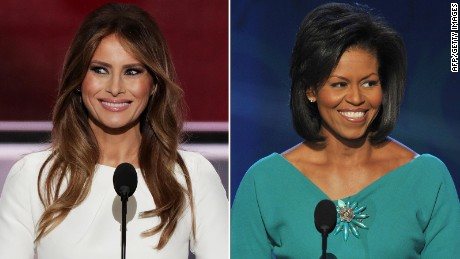 Yes, Melania Trump Plagiarized Michelle Obama's 2008 DNC Speech….