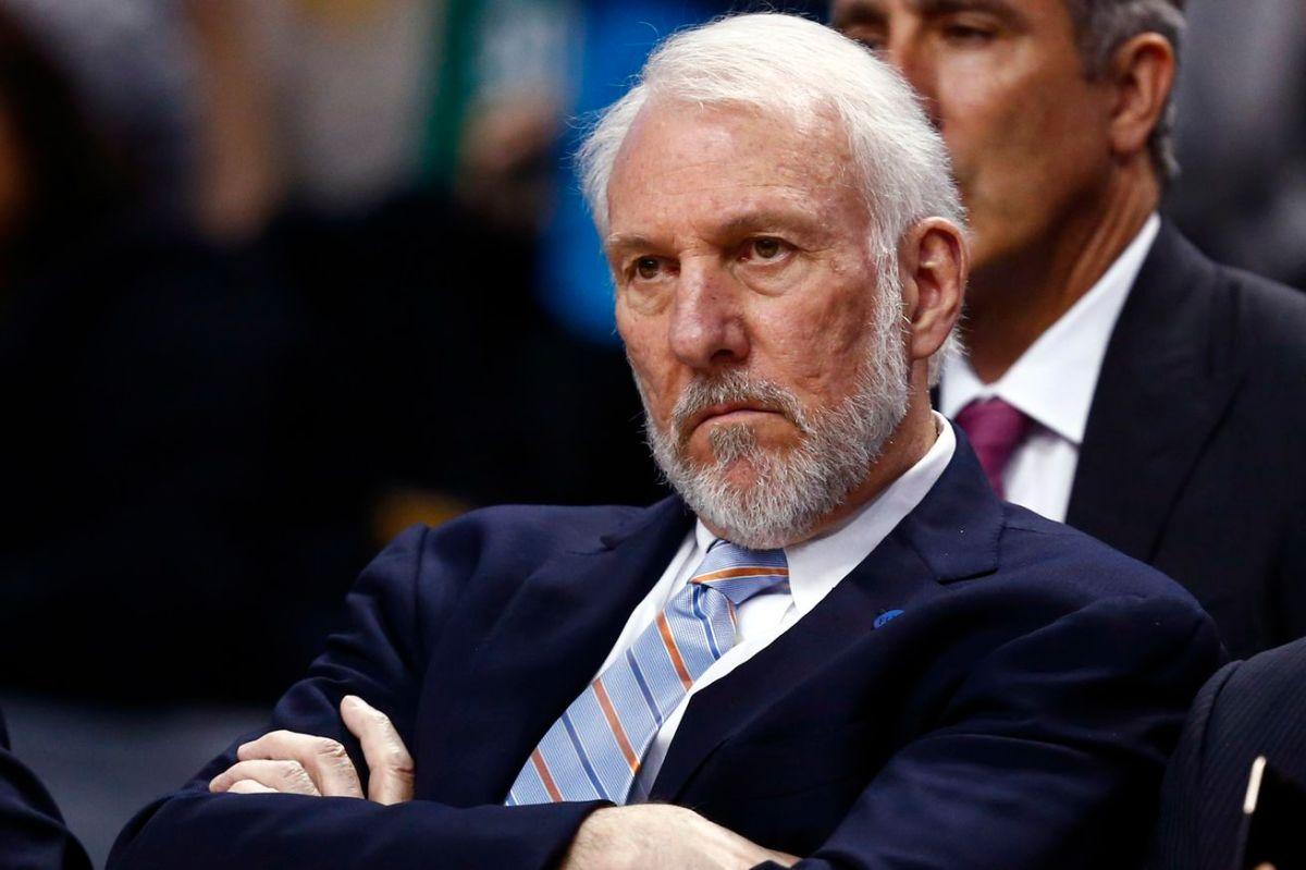 Gregg Popovich Sounds off on Donald Trump…