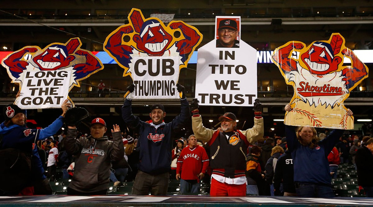 MLB Commissioner Rob Manfred on Cleveland Indians Chief WahooLogo