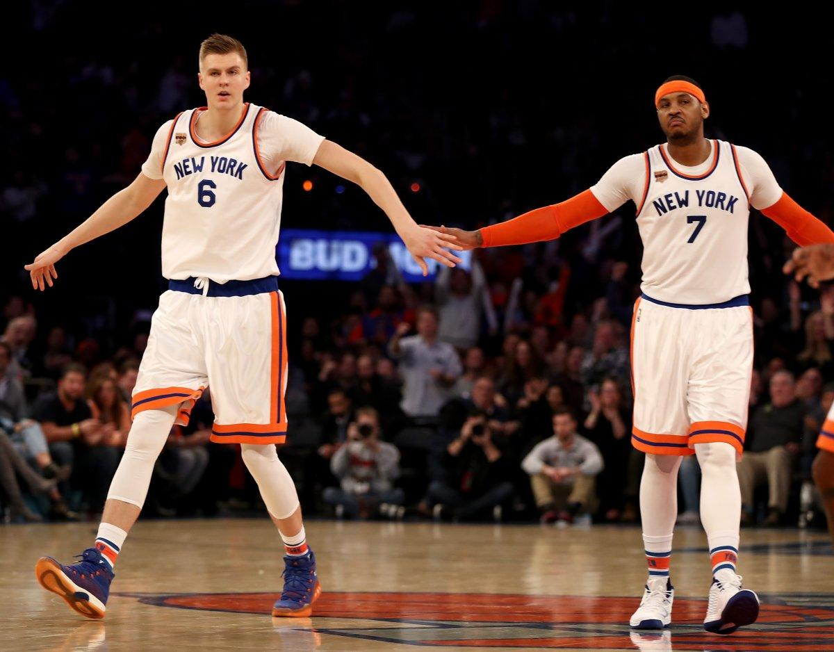 Kristaps Porzingis STILL Needs Carmelo Anthony….